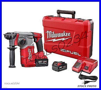 Milwaukee 2712-22 M18 Fuel 1 Sds Plus Rotary Hammer Kit - Powerstate