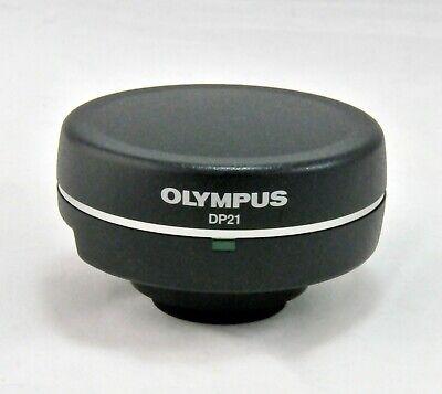 Olympus Dp21 3 Mp Microscope Camera