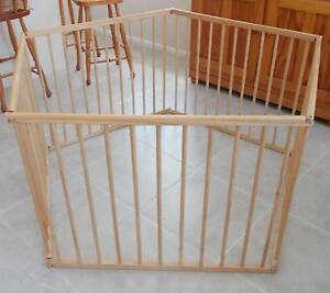 Wooden Playpen or ROOM DIVIDER for Toddler or Pet VGC Allambie Heights Manly Area Preview