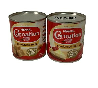 Nestle Carnation Sweetened Condensed Milk Tins Pack Of 2 X 397g Brand New