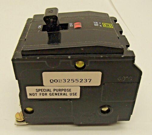 AMAT 0680-01478 Square D QOB3255237 Bolt-on Circuit Breaker 25 Amps 3-Pole 240V