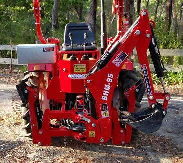 Hanmey BHM-95 Backhoe TPO Driven