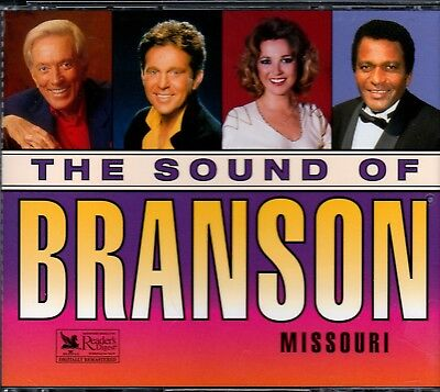 Readers Digest Sound Of Branson Missouri 3Cd Classic Country Tanya Tucker Rare
