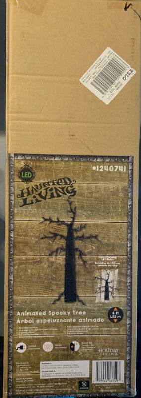 Haunted Living Animated Spooky Tree 6ft Tall