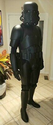 New Stormtrooper Armor (Star Wars Shadow Stormtrooper Armor - Black ABS - 100% Screen)