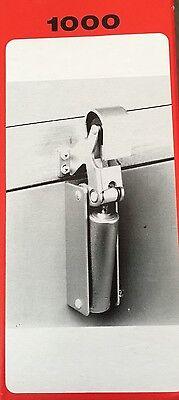 Hydraulic Door Closer Offset - Replaces Kason 1092 - Walk In Cooler Freezer