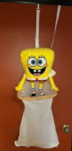 RARE Spongebob Door Hamper/Hanging Laundry Bag (2002) Nickelodeon Limited Kids