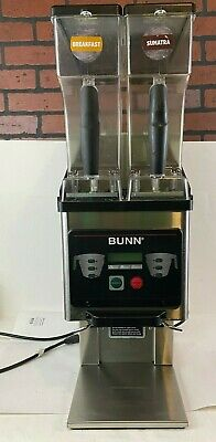 Bunn Mhg Commercial Dual Hopper Coffee Grinder Brewwise Untested Powers On