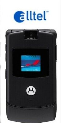 Motorola RAZR V3M ALLTEL Cellular Phone BLACK Alltel Razr V3m