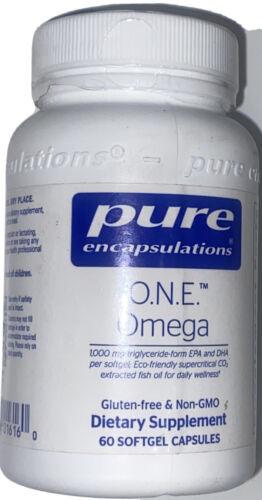 Pure Encapsulations O.N.E. Omega Dietary Supplement - 60 Capsules