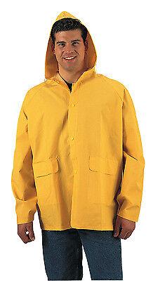 Rothco Security Guard Officer Mens Heavyweight Yellow PVC Ra