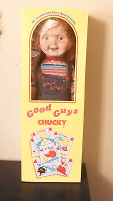 """Good Guys Chucky Doll 30"""" Childs Play Spirit of Halloween New in Box"""