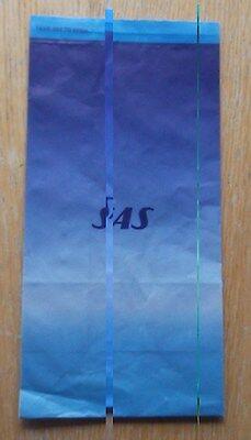 SAS - Scandinavian Airliines System -  Sick Bag new, unused