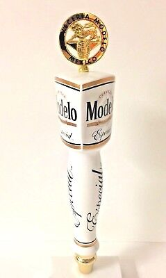 Modelo Especial Cerveza Beer Tap Handle Gold Medal - New in Box & Free Ship  (Modelo Gold)