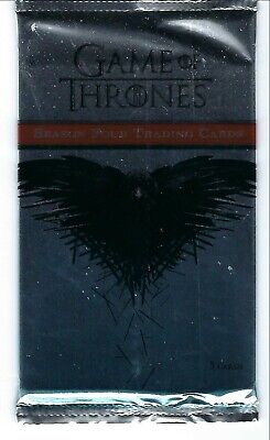 Game of Thrones season 4, trading cards pack