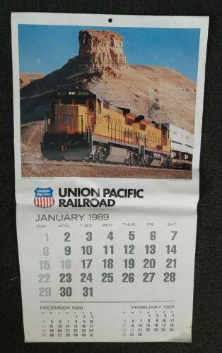1989 UNION PACIFIC RAILROAD Calendar