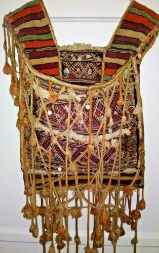 Vintage/Authentic Woven Moroccan Camel Bag