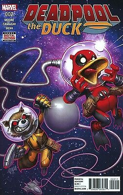 DEADPOOL THE DUCK #2 (OF 5) MARVEL COMICS 1/18/17