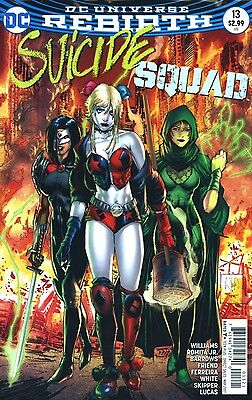 SUICIDE SQUAD #13 PORTACIO VARIANT REBIRTH DC COMICS 3/8/17