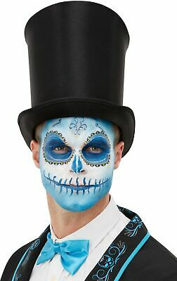 Day Of The Dead Make Up Kit Tattoo Easy Halloween Face Paint Adults - Easy Kids Halloween Face Paint