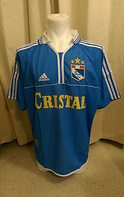 Sporting Cristal 1998 - 2000 Home Shirt by Adidas BNWT (L) image