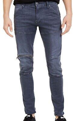 G Star Mens Jeans Blue Size 31x32 5620 3D Zip-Knee Skinny Stretch Denim $160 094