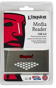 Kingston-FCR-HS4-USB-3-0-CF-microSD-SDXC-SDHC-Pro-Duo-Reader-fit-128GB-64GB-32GB