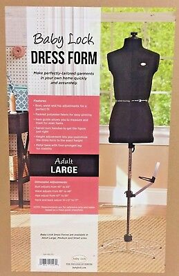 Baby Lock Dress Form Adult Large Bldfl