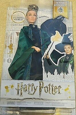 Harry Potter Minerva McGonagall Wizarding World Collectors Doll - Free Shipping