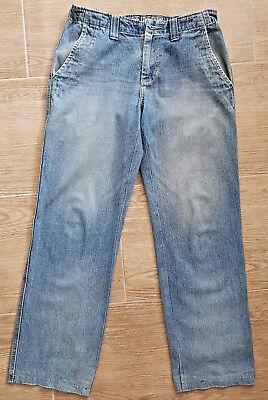 Herren Jeans Größe 50 Weite 32 Länge 32 Hose blau Männer Jeanshose Used Denim  ()