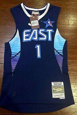 2009 NBA All Star Allen Iverson Mitchell and Ness Swingman Jersey