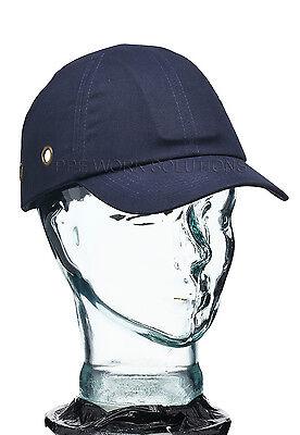 Blackrock Navy Bump Cap Safety Work Shell Baseball Vented Hard Hat (7001100)