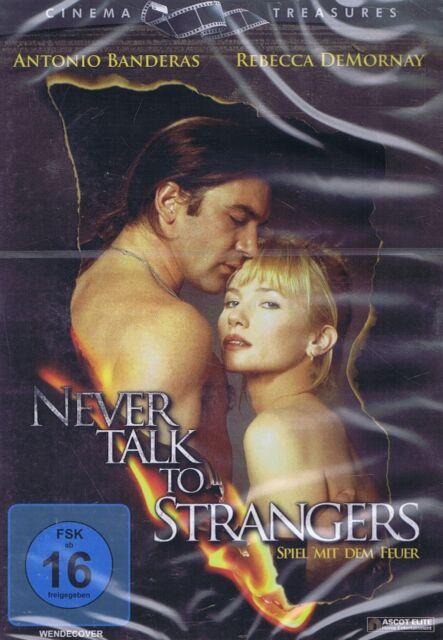 DVD NEU/OVP - Never Talk To Strangers - Spiel mit dem Feuer - Antonio Banderas
