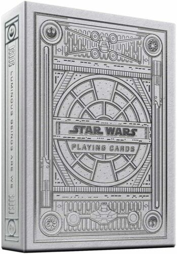 Theory11 Star Wars Playing Cards Special Edition Single Deck Poker New Silver