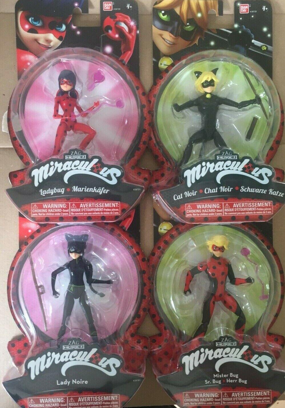 Miraculous Set  (4 Figuren)