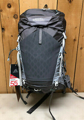 Gregory Women's Maven 55 Backpack Overnight Hiking Pack Forest Grey Size (Gregory Grey)