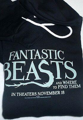FANTASTIC BEASTS official studio movie promo sweatshirt hoodie (XL) Harry Potter