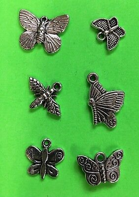 CHARMS butterfly insect DIY fun gift idea stocking stuffer Christmas gift #A10