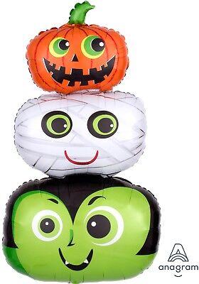 Anagramm Kürbisse Mami Halloween Kopf Folien Luftballon 48.3cmx91.4cm (Anagramm Halloween Ballons)