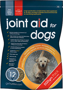 Gro Wells Joint Aid for Dogs Joint Supplement with Glucosamine - 500g