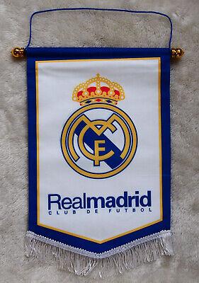 kiTki Real Madrid football soccer club team flag badge logo souvenior -