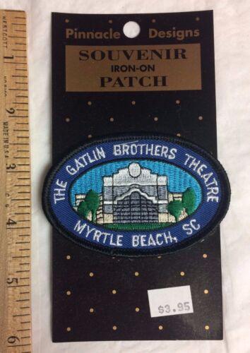 NIP The Gatlin Brothers Theatre Myrtle Beach South Carolina SC Souvenir Patch