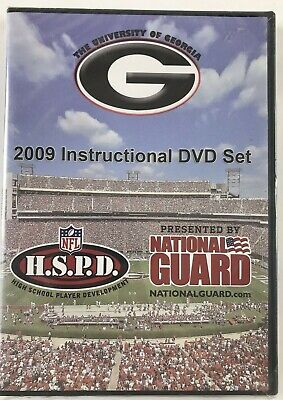 NEW University of Georgia Football 2009 Instructional DVD Bulldogs NCAA **Read