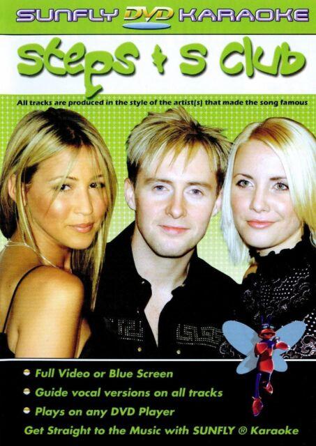 Sunfly Karaoke DVD Steps & S Club (DVD)