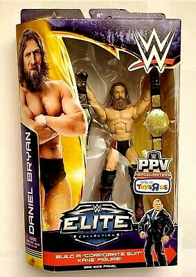 Used, WWE Elite Toys R Us Build A Figure Daniel Bryan. NEW for sale  Shipping to India