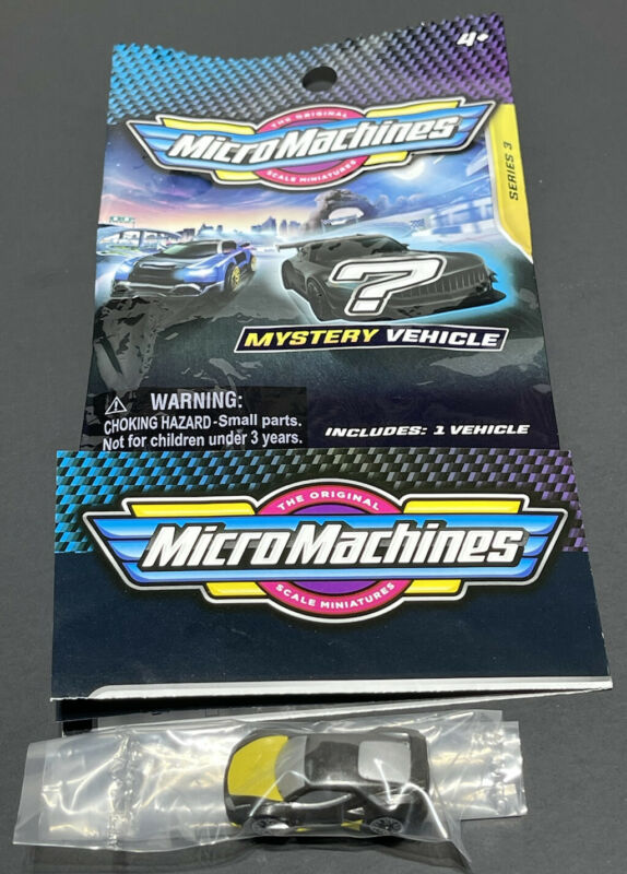 Micro Machines 2020 2021 Mystery Vehicle Blind Bags Series 3 - QUETZAL - #0148