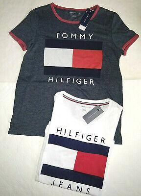 Tommy Hilfiger women`s Graphic t shirt 1 Big Flag T shirt
