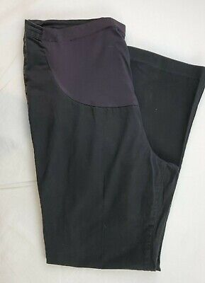 Duo Maternity Pants Womens Size Med Black Duo Maternity Pants
