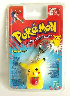 Pokemon Pikachu #25 Light-Up Keychain Tiger Electronics 1998/2000 - Rare