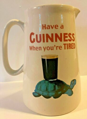Vintage Guinness Pitcher - Have a Guinness When You
